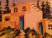 AMOA 5 X 7 art show 2012  Home Away - GIFT