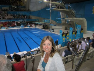 Great seats at the diving