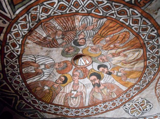 The roof inside