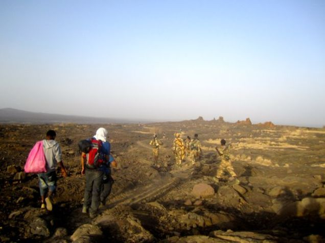 Military security