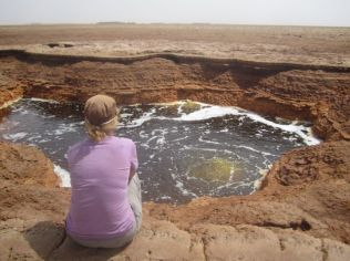 Bubbling pools