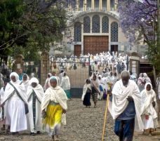 Leaving church