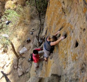 Making my way up