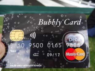 Every girl needs her own Bubbly Card