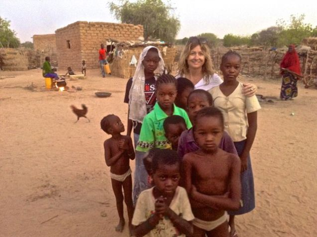 Staying in a village near Koure, Niger