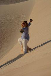 Sand dunes are fun!