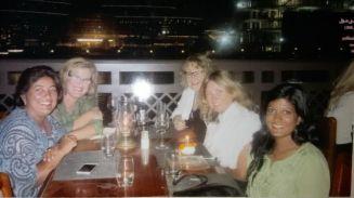 Fountain dinner in Dubai