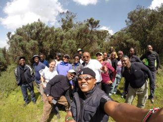 The hiking gang...