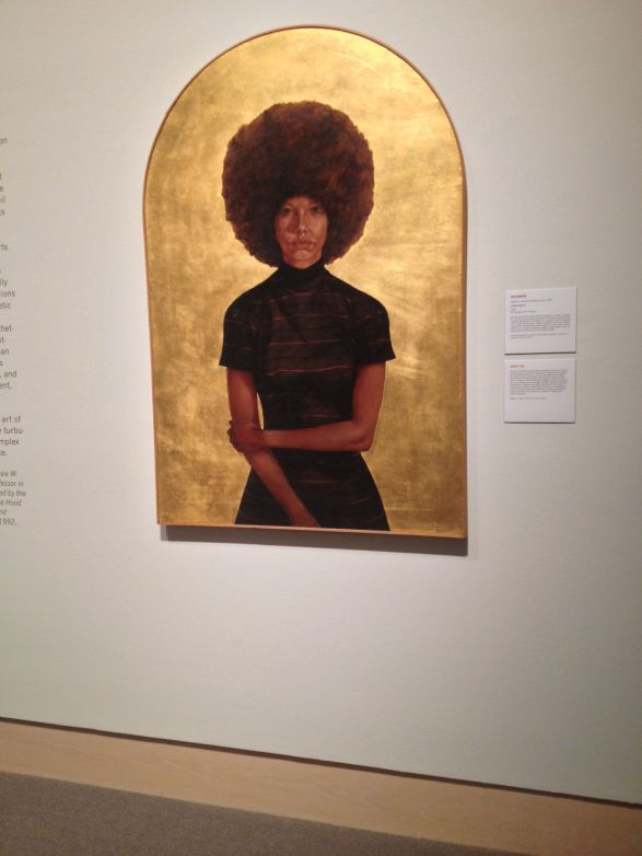 """Tour of """"Witness: Art & Civil Rights in the Sixties"""" at the Hood Museum, Dartmouth College. October 2014. Photo by Nikki A. Greene."""