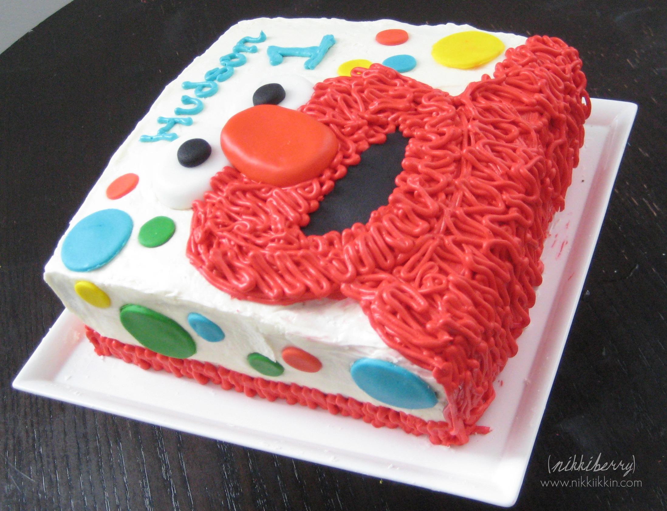 Hudson S Elmo Cake