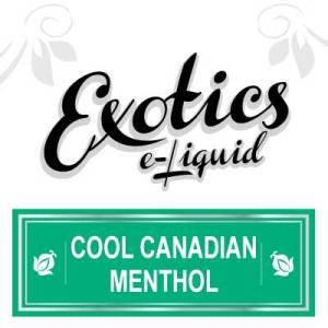 Exotics e-Liquid Cool Canadian Menthol