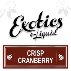 Crisp Cranberry e-Liquid, Exotics, Fruit eJuice, Flavours, Vape, Vaping