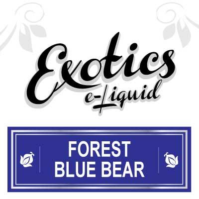 Exotics e-Liquid Forest Blue Bear