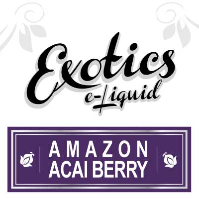 Exotics e-Liquid Amazon Acai Berry