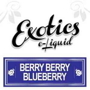 Exotics e-Liquid Berry Berry Blueberry