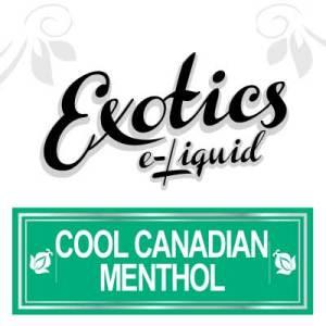 Cool Canadian Menthol e-Liquid, Exotics, eJuice Flavours, eCig, Vape, Vaping