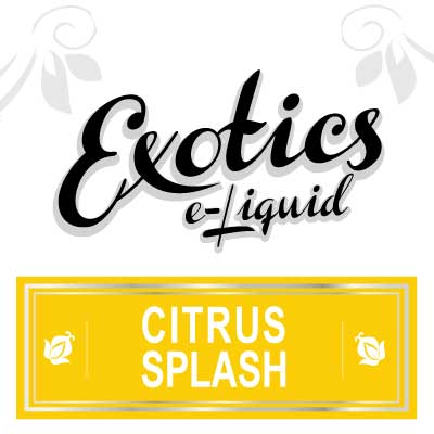 Citrus Splash e-Liquid, Exotics, eJuice, Fruit Flavours, Vape, Vaping