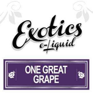 One Great Grape e-Liquid, Exotics, Fruit Flavour, eJuice, Vape, Vaping