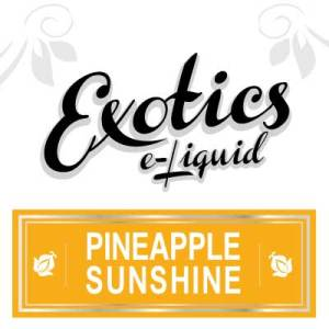 Pineapple Sunshine e-Liquid, Exotics, Vape, Vaping, Fruit eJuice, eCig