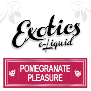 Pomegranate Pleasure e-Liquid, Exotics, Fruit eJuice, Flavours, Vape, Vaping