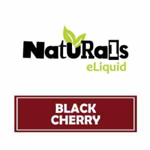 Naturals eLiquid Black Cherry