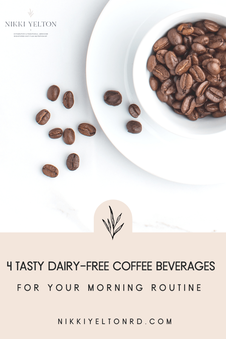 Coffee beans for morning dairy free coffee