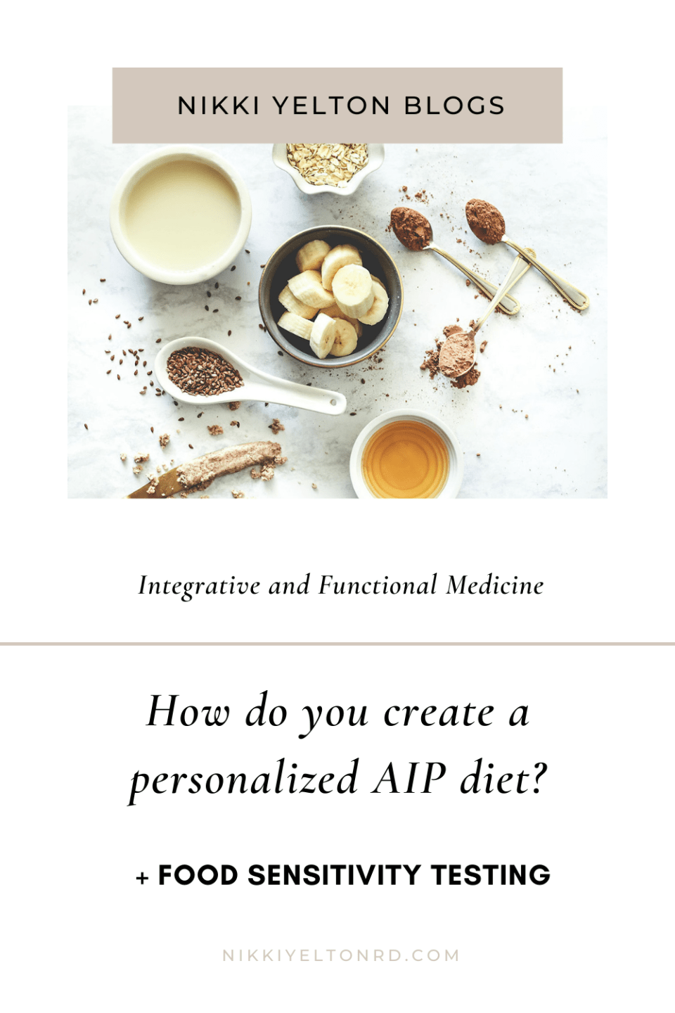 The functional medicine tests and food elimination phases involved in personalizing the autoimmune paleo protocol