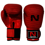 Rękawice bokserskie Nikko Heavy Punch RED
