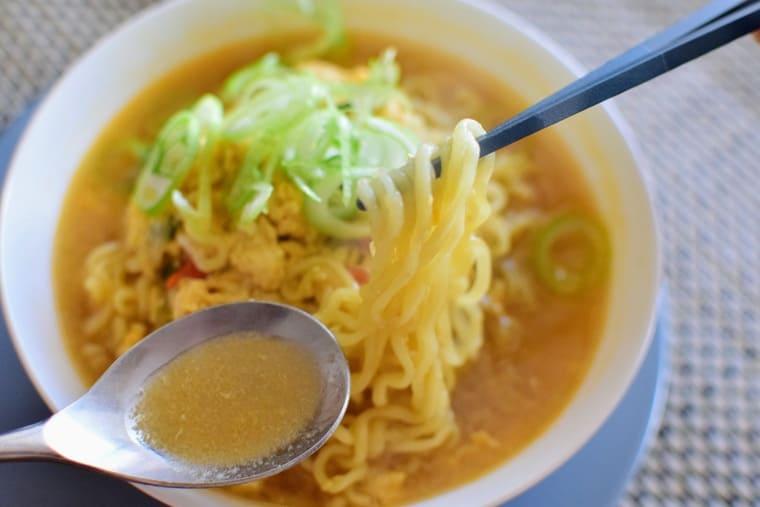 samyangカムジャ麺実食