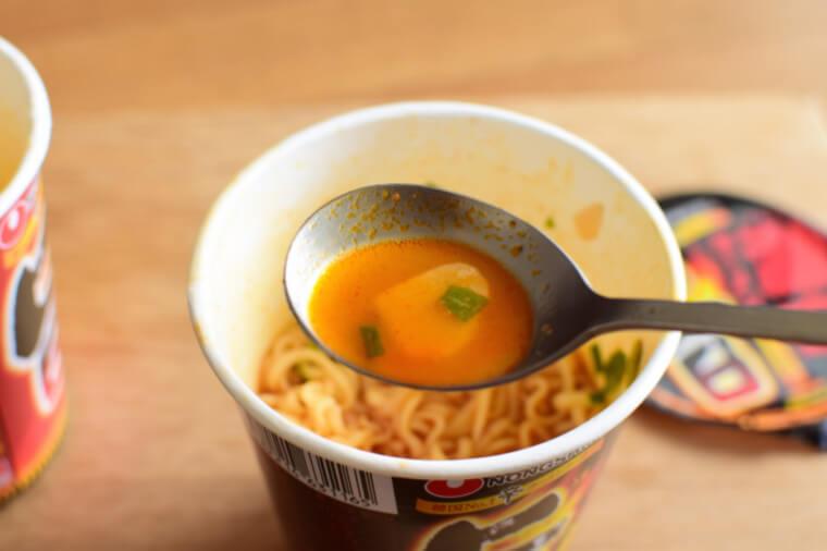 激辛ラーメンスープ