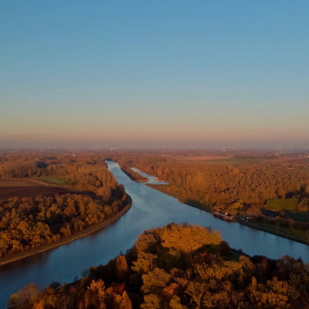 Canal de la Deule à l'Ilot de Bauvin (59)