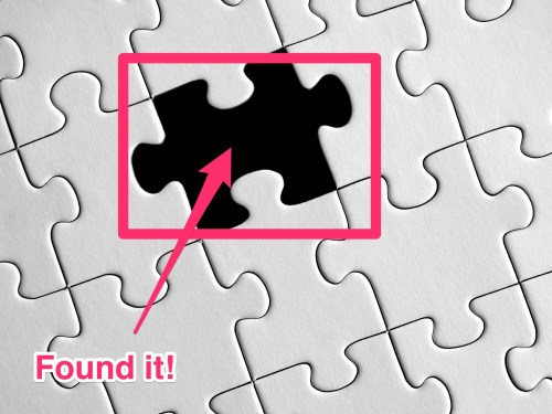 How to break bad habits puzzle