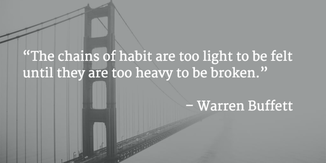 The Power Of Habit Review Warren Buffett
