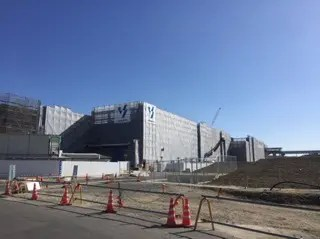 IKEA名古屋の建設現場