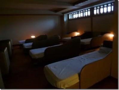 湯あみの島 睡眠室