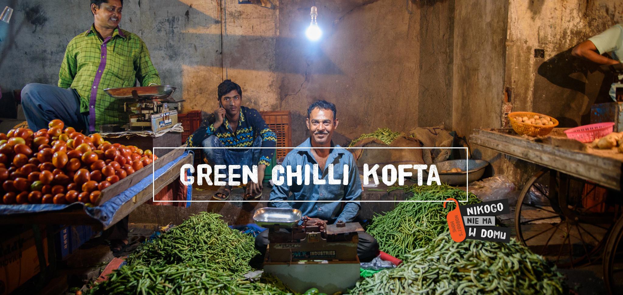 Smak Indii – green chili kofta