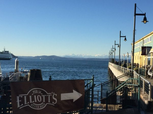 シアトルの港
