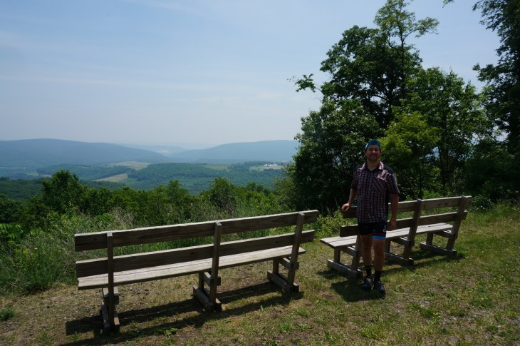 Maryland/Pennsylvania Border, aka the Mason Dixon Line.