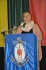 Die Pfarrgemeinderatsvorsitzende Martina Philipps bei ihrer Begrüßung