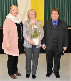 Unsere Blumenschmückererin Monika Koletzko