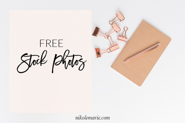 FREE Stock Photos to Save You Time in Your Biz