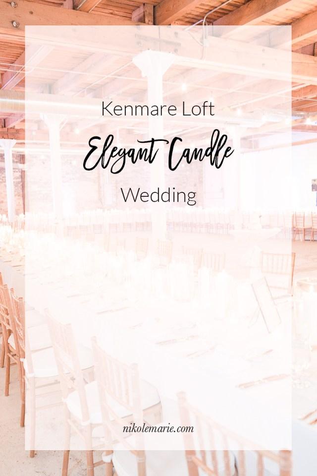 Elegant Kenmare Loft Wedding