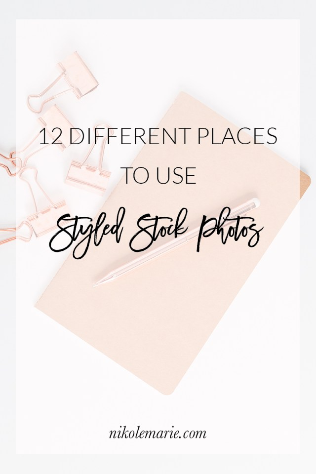 12 Different Places to Use Stock Photos