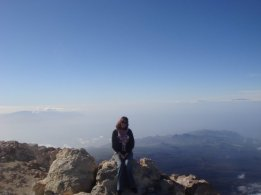 "On top of Teide, tha talles mountain in ""Spain"" - Tenerife, Canary Islands"