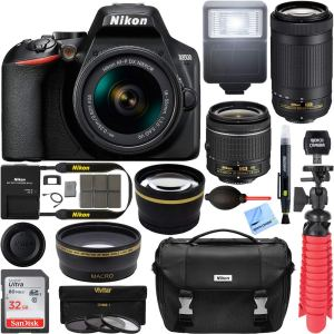 best Nikon D3500 bundle
