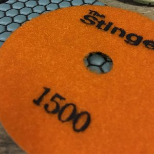 Stinger Dry Polishing Pads by Nikon Diamond Tools