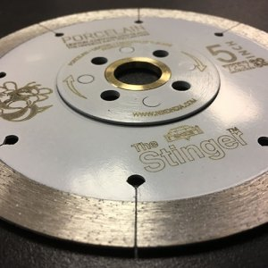 The Stinger BMF Porcelain Saw Blade by Nikon Diamond Tools