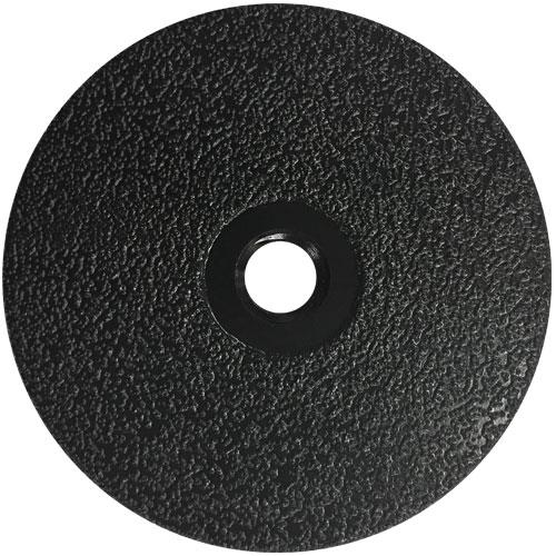 "4"" The Stinger Black medium grit flat vacuum brazed cup wheel"