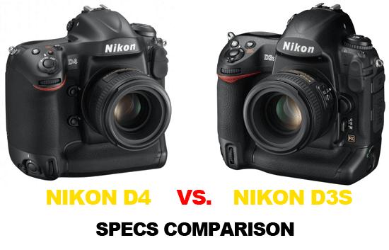 Nikon D4 vs D3s specs comparison Nikon D4 vs. D3s specs comparison