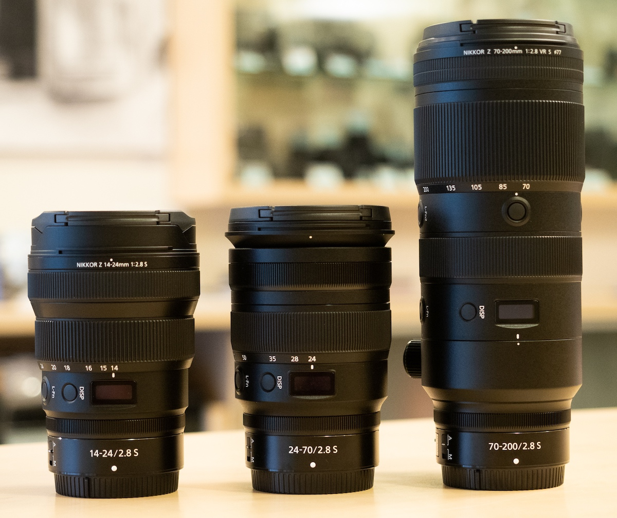 Intervista con gli ingegneri Nikon sugli obiettivi Nikkor Z 14-24mm, 24-70mm e 70-200mm f / 2.8